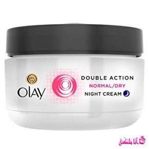 double action night cream Olay