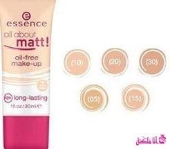 ايسنس مات اويل فري Essence All About Matt oil Free