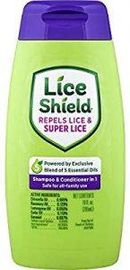 1- لايس شيلد شامبو lice shield shampoo&conditioner